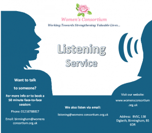 Updated listening service flyer